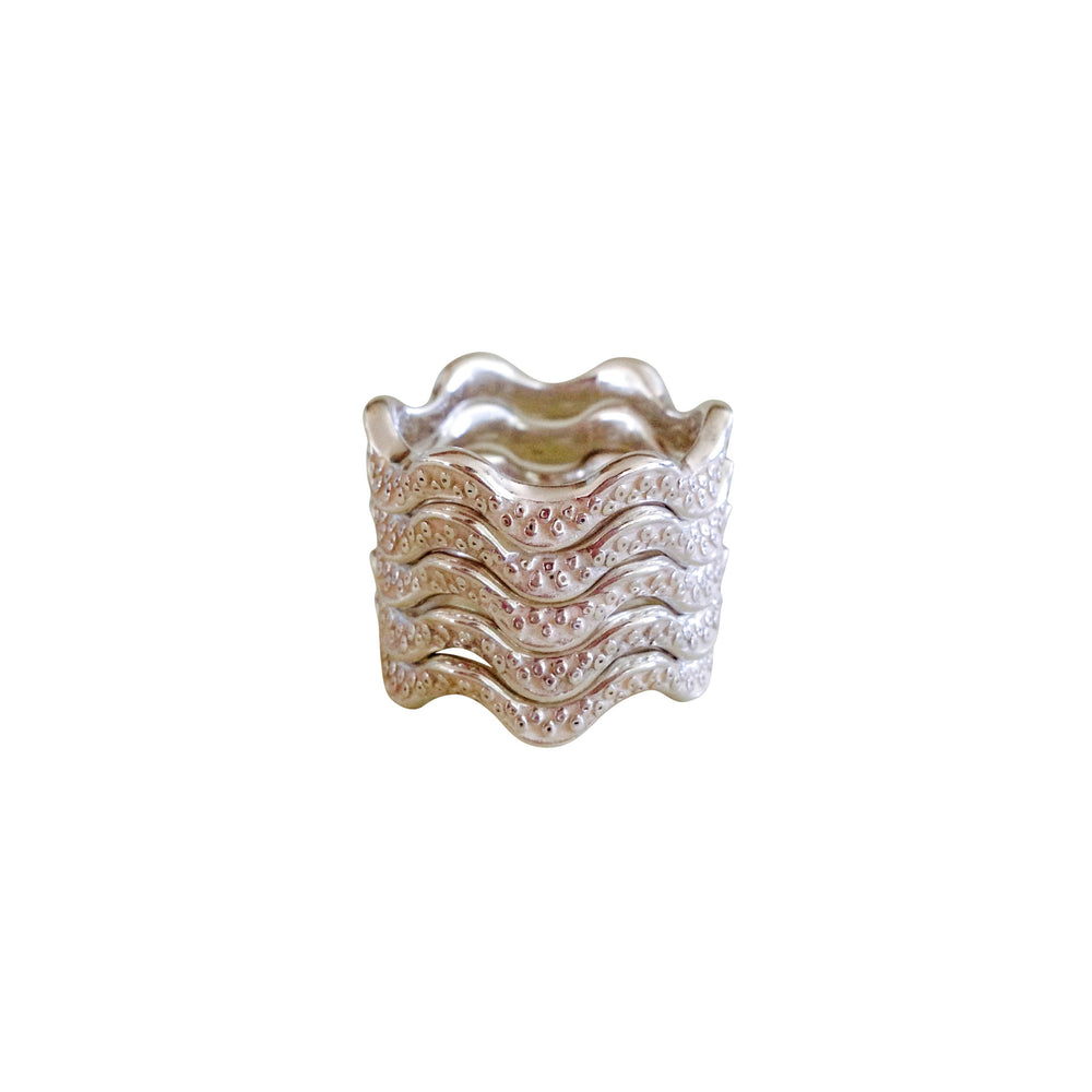 He'e Wavy Rings - Keani Jewelry