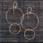 Hamoa Double Hoops