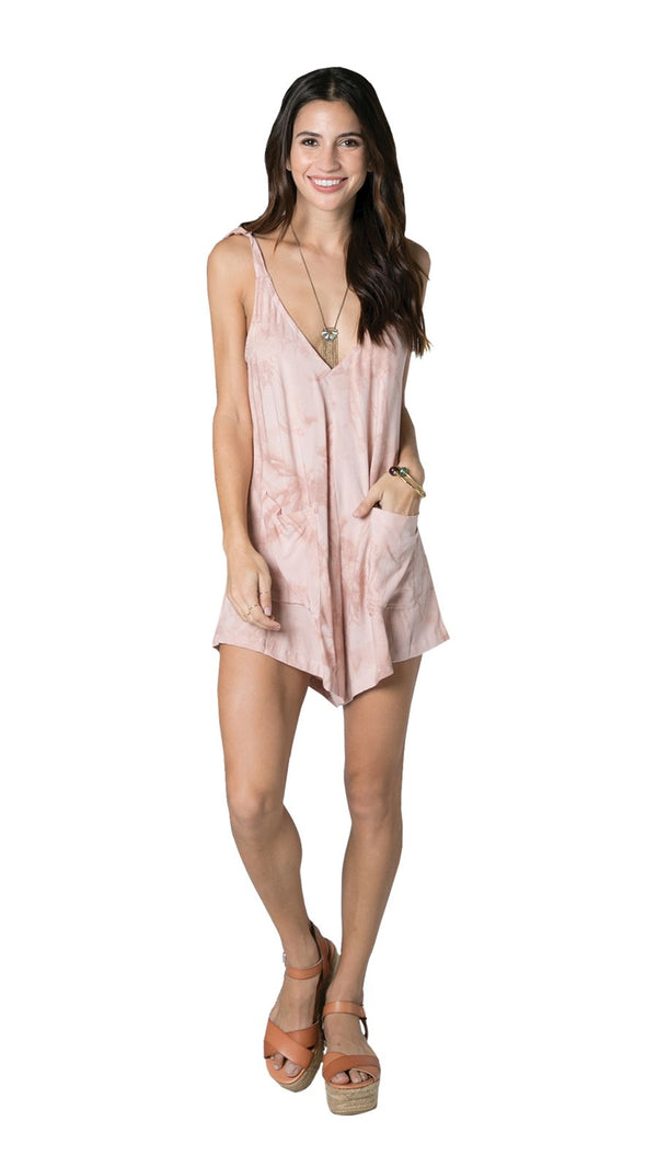 Mares Romper / Rose Blush