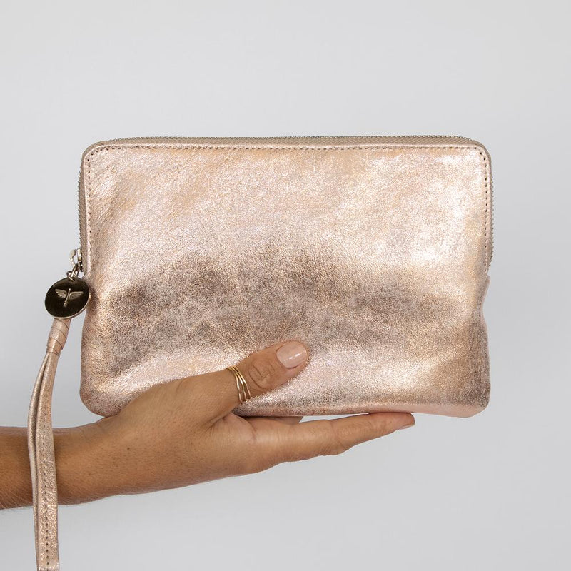 Pouch Wallet / Rose Gold