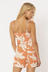 Tangerine Sunrise Crop Top