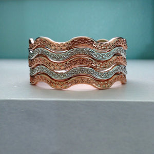 He'e Tentacle Twist Bangle Stack - Keani Jewelry