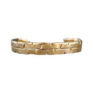 Banana Leaf Cuff, Keani Jewelry Maui, Hawaii