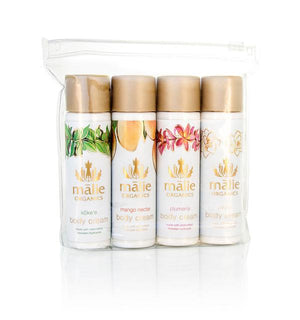 Malie Organics Travel Body Cream Set