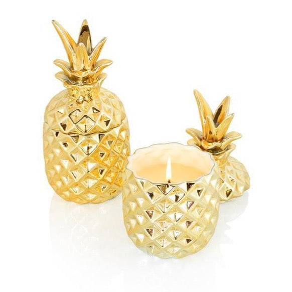 Malie Organics Soy Golden Pineapple Candle -- Keani Hawaii