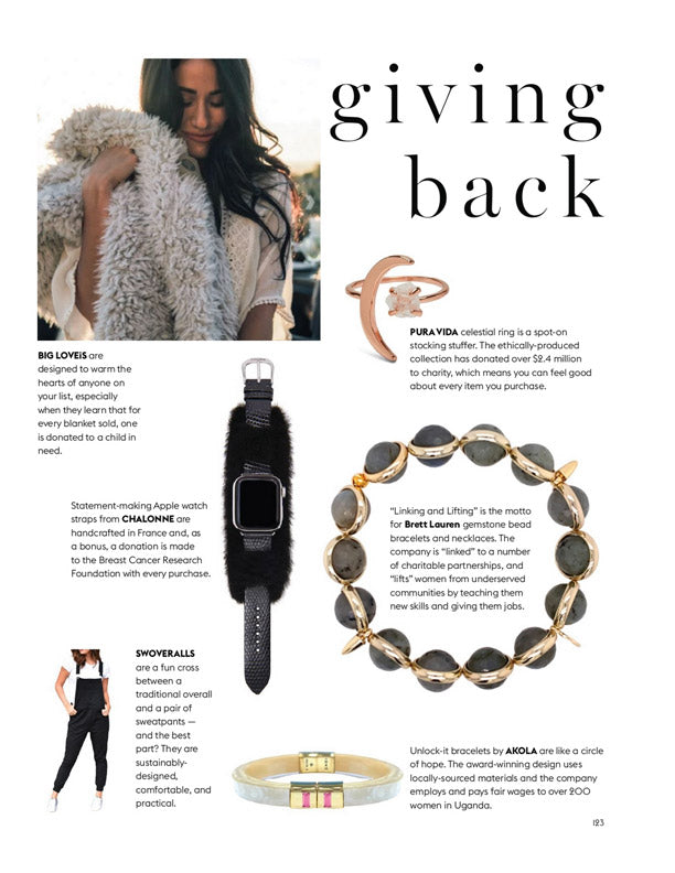 Accessories Council Holiday Gift Guide – Giving Back
