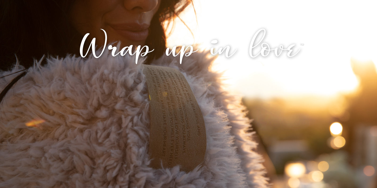 Wrap up in Love - Sunset Smile BIG LOViE