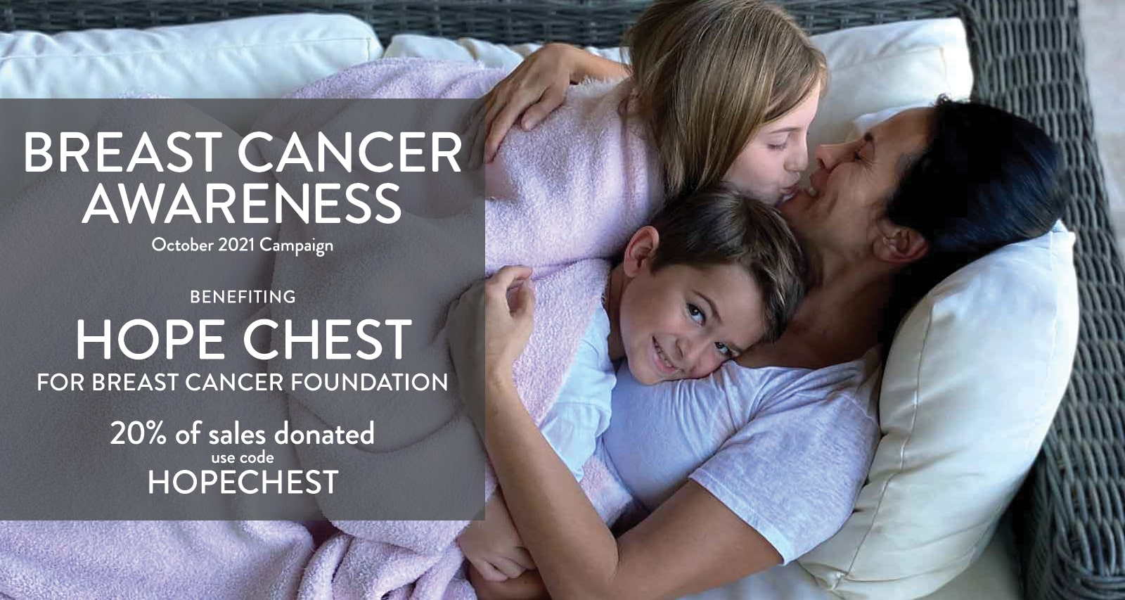 October Breast Cancer Awareness Month Hope Chest Foundation
