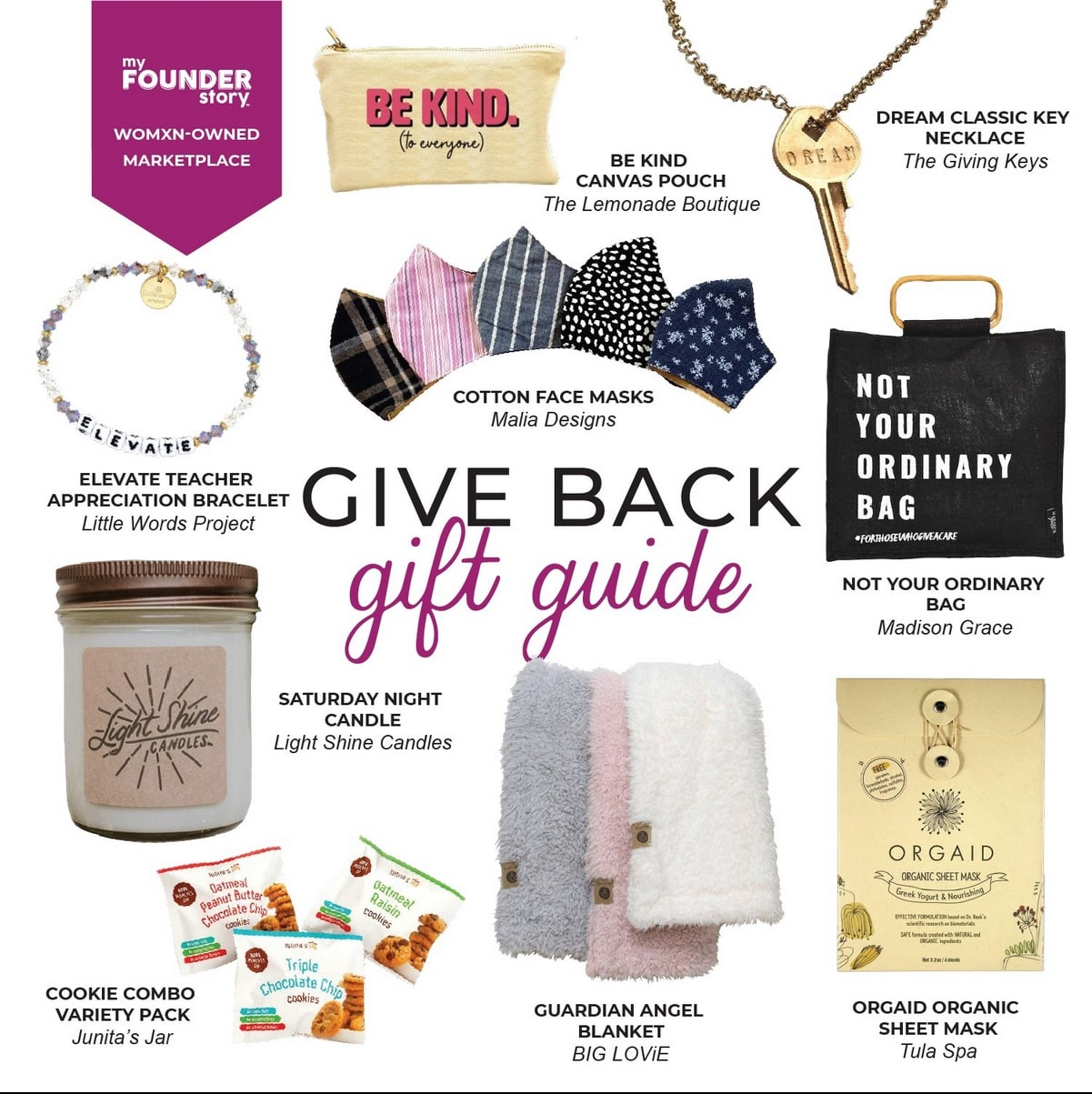 MyFounderStory Give Back Gift Guide 2020