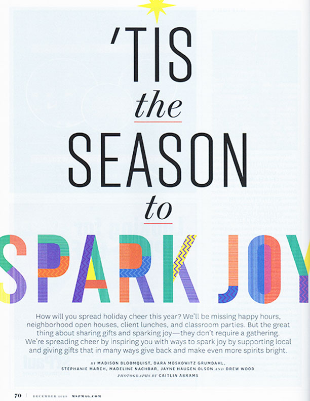 MplsStPaul Magazine 'Tis the Season to Spark Joy