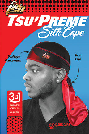 The Tsu'Preme Silk Cape Durag