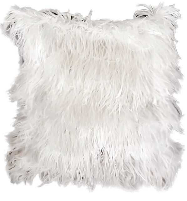 Queendom - Ostrich Feathers Decor Throw Pillow