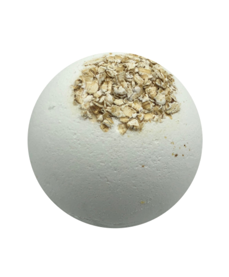 Soothing - Sandalwood + Colloidal Oatmeal Organic Bath Bombs