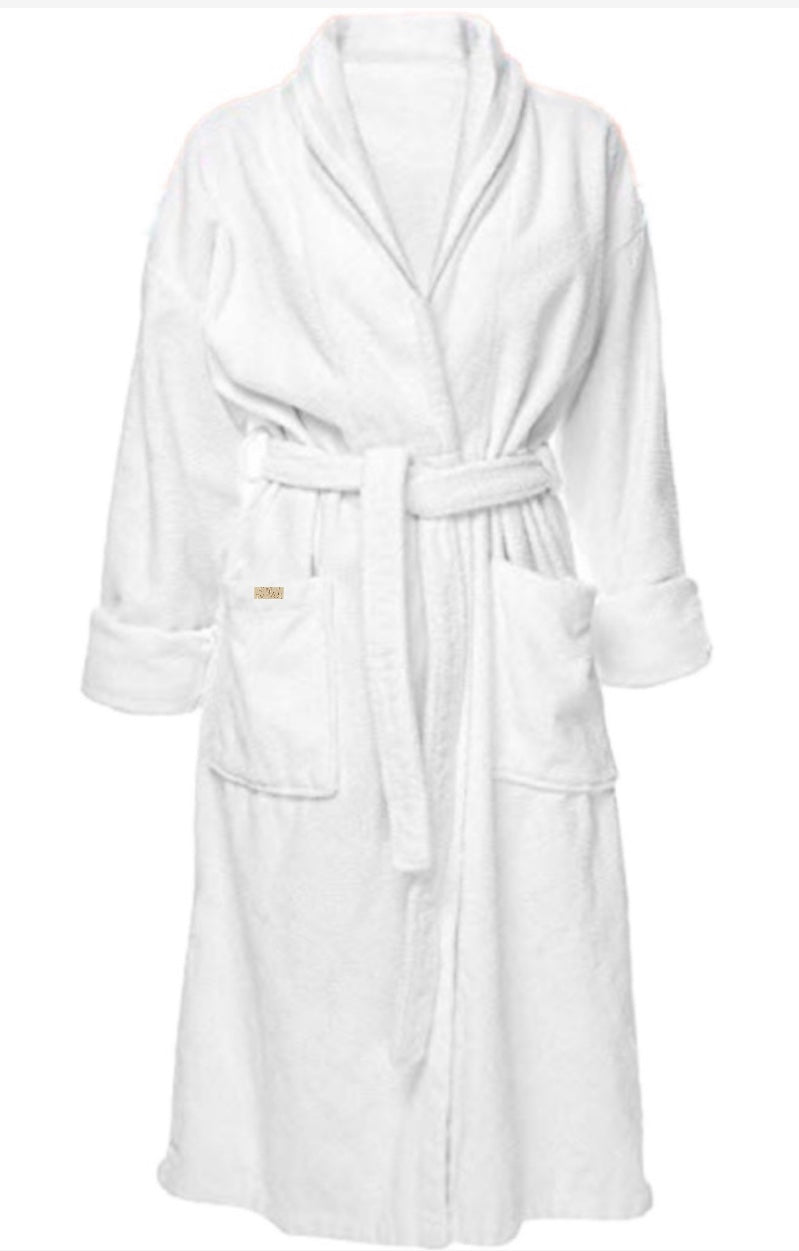Luxury Terry Cotton Spa Robe