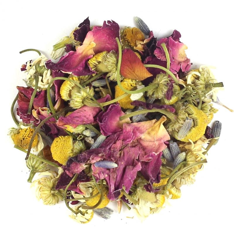 Flower Power Mineral-Infused Bath Tea Detox