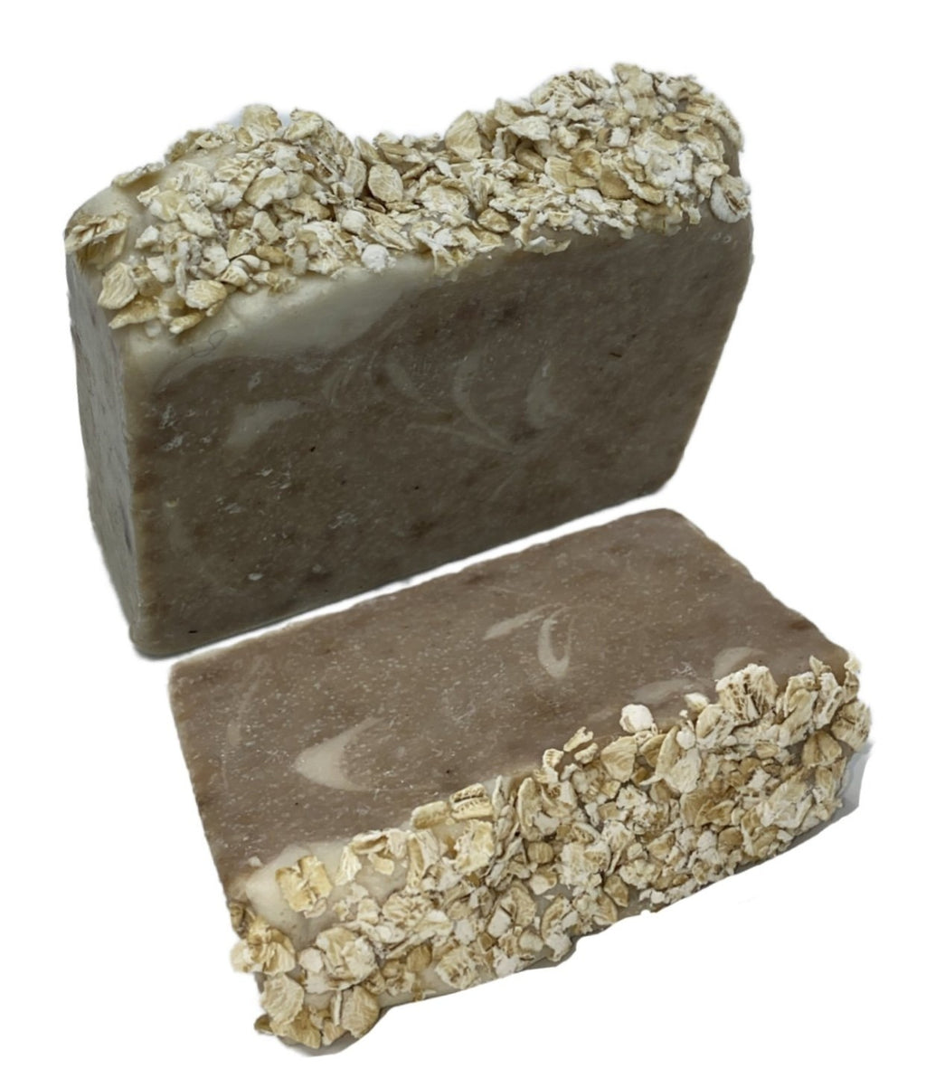 Chamomile + Oatmeal Cold Process Artisan Soap Bar