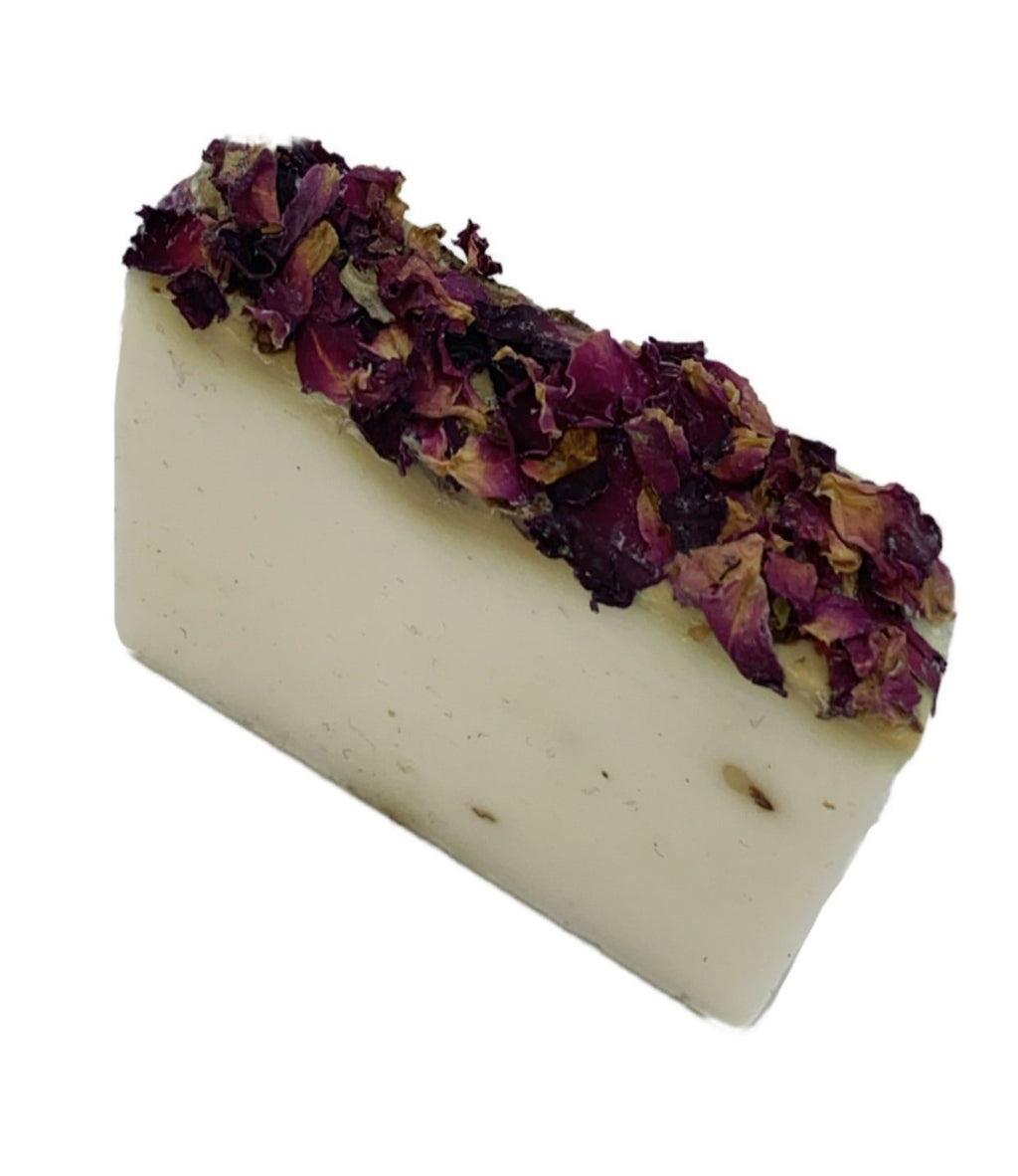 Rose + Clay Cold Process Artisan Soap Bar