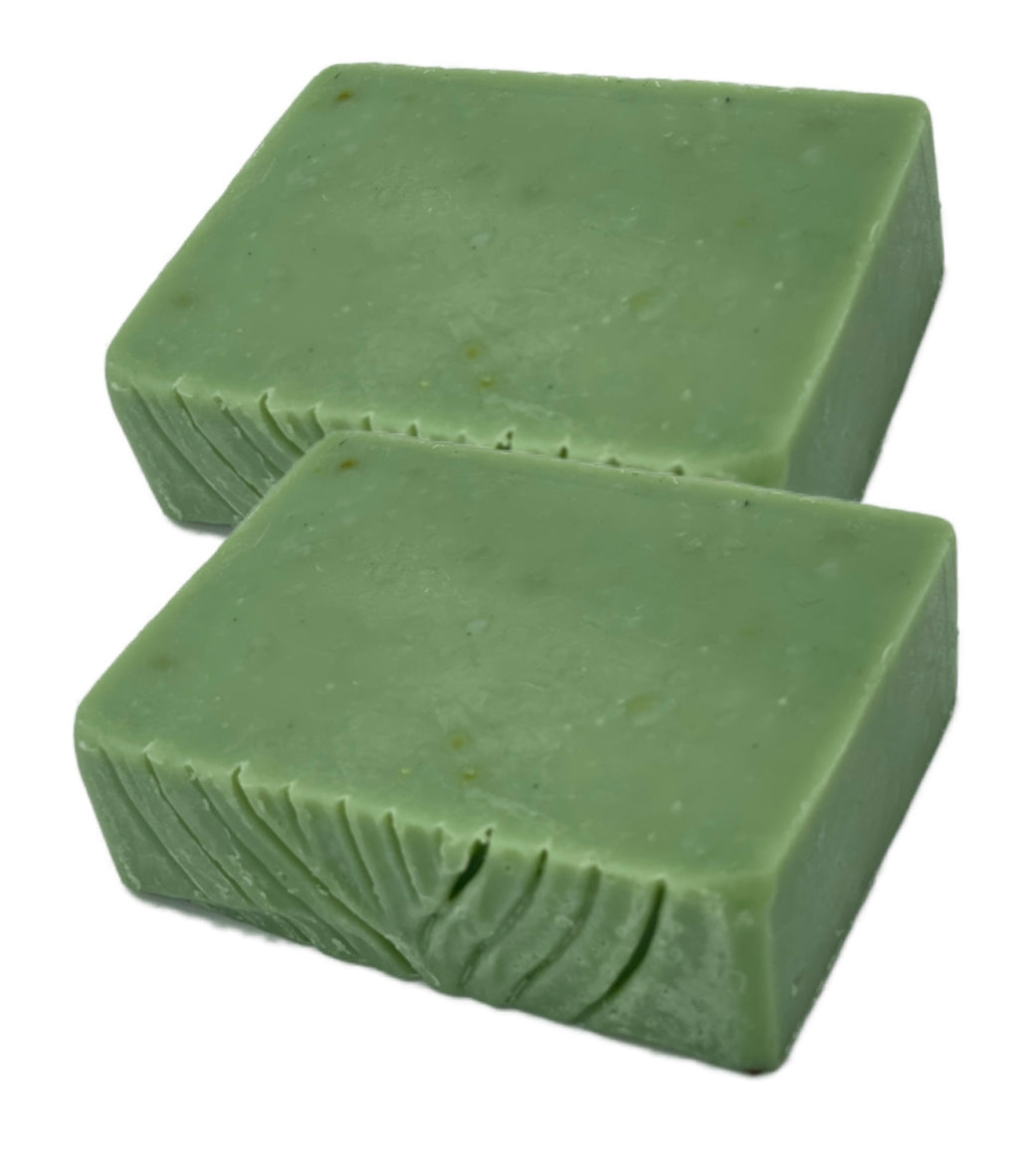 Cucumber Mint Cold Process Artisan Soap Bar