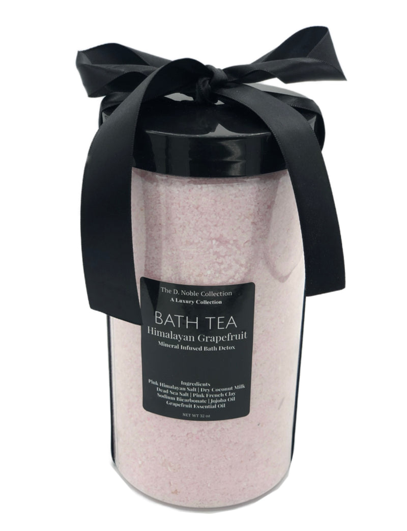 Himalayan Grapefruit Mineral-Infused Bath Tea Soak Detox