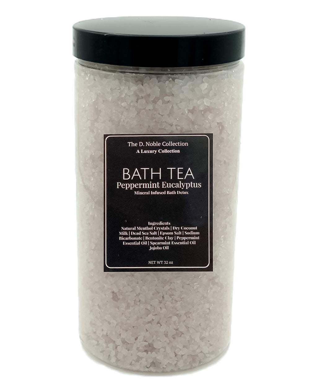 Peppermint Eucalyptus Mineral-Infused Bath Tea Detox