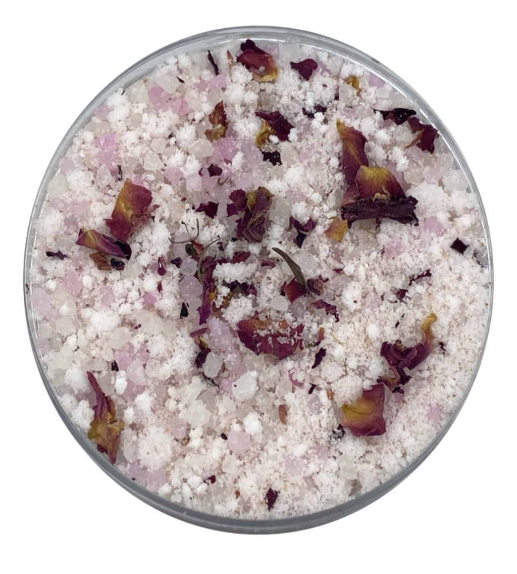 Coconut Rose Mineral-Infused Bath Tea Soak Detox