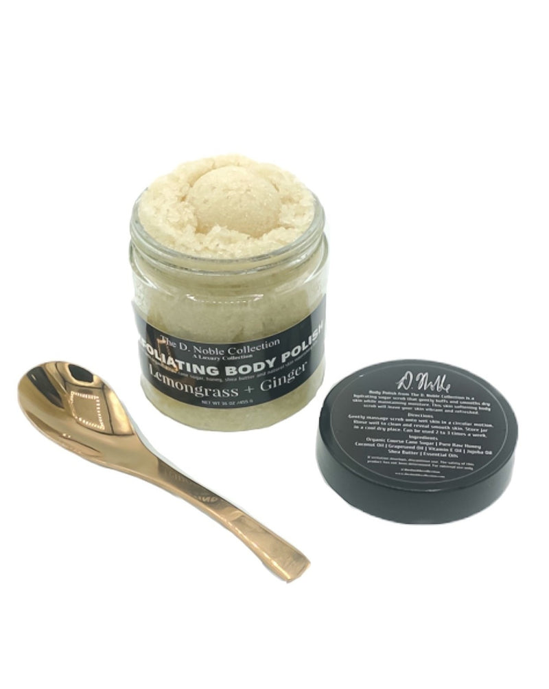 Lemongrass + Ginger Exfoliating Sugar Body Polish