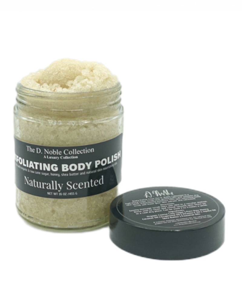 Naturally Scented Exfoliating Sugar Body Polish