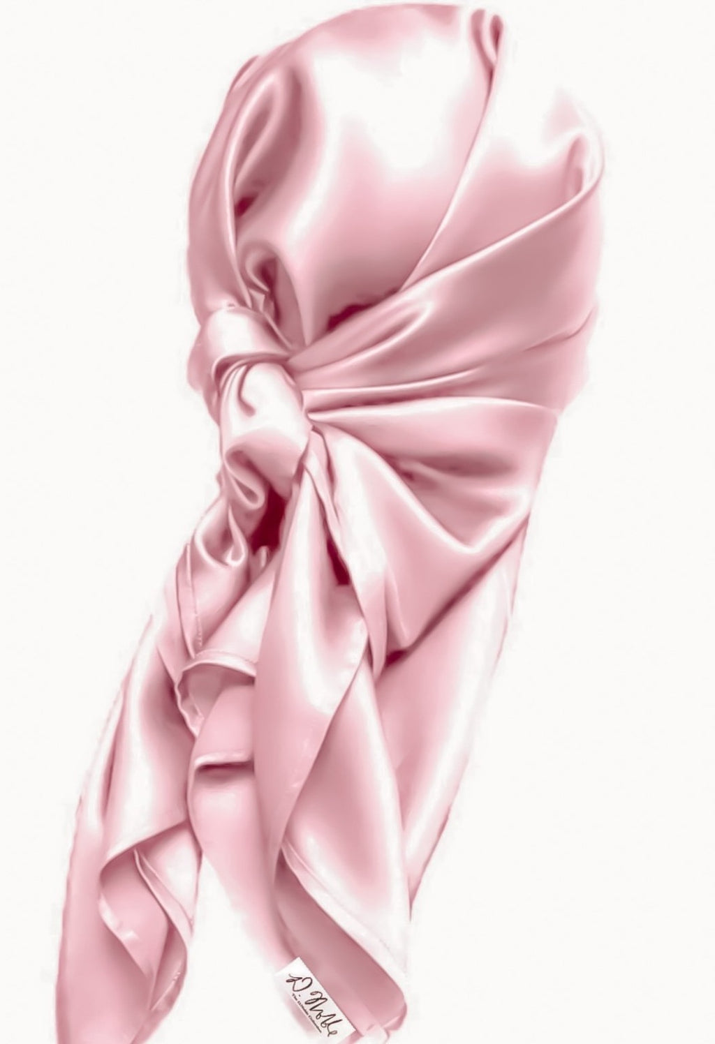 Pink 100% Mulberry Silk Hair Scarves