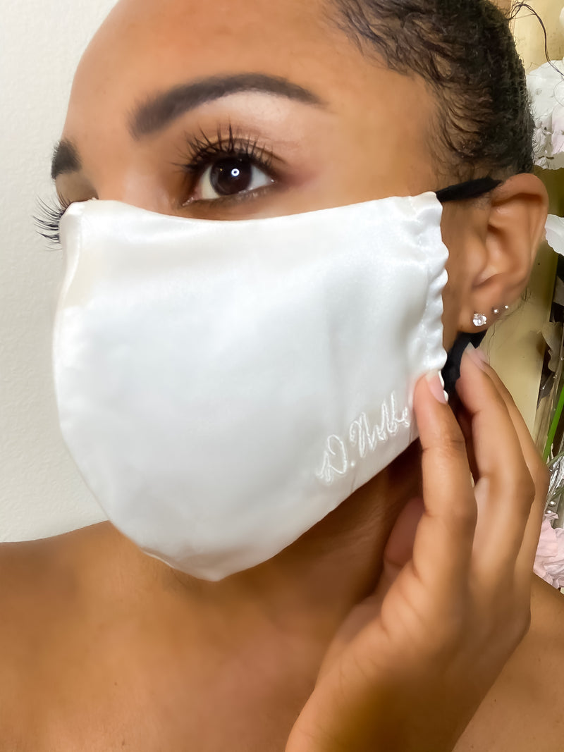100% Mulberry Silk Face Mask with Filter