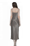 Lola 100% Mulberry Silk Chemise Full Length Nightgown