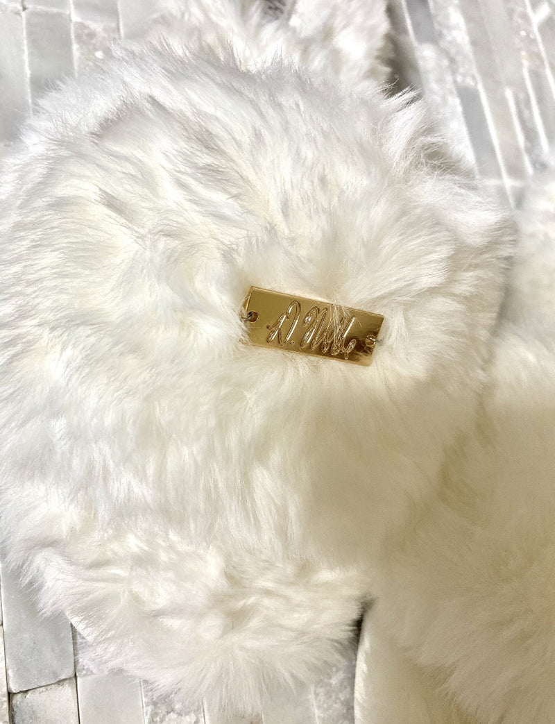 Faux-Fur Comfort Slippers