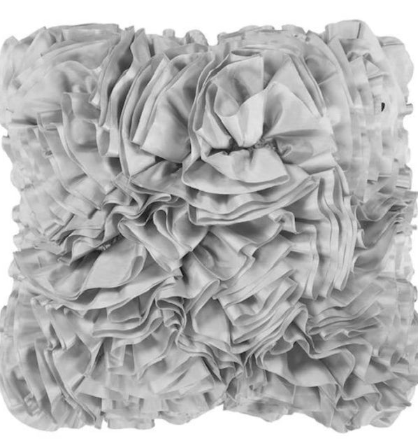 Miss America - Ruffle Decorative Throw Pillow
