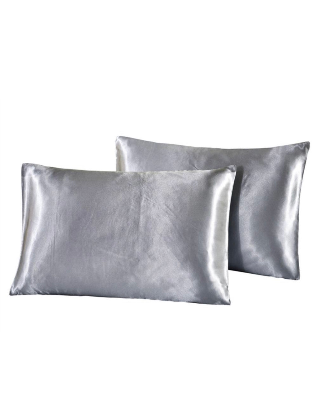 Grey Mulberry Silk Beauty Pillow Cover