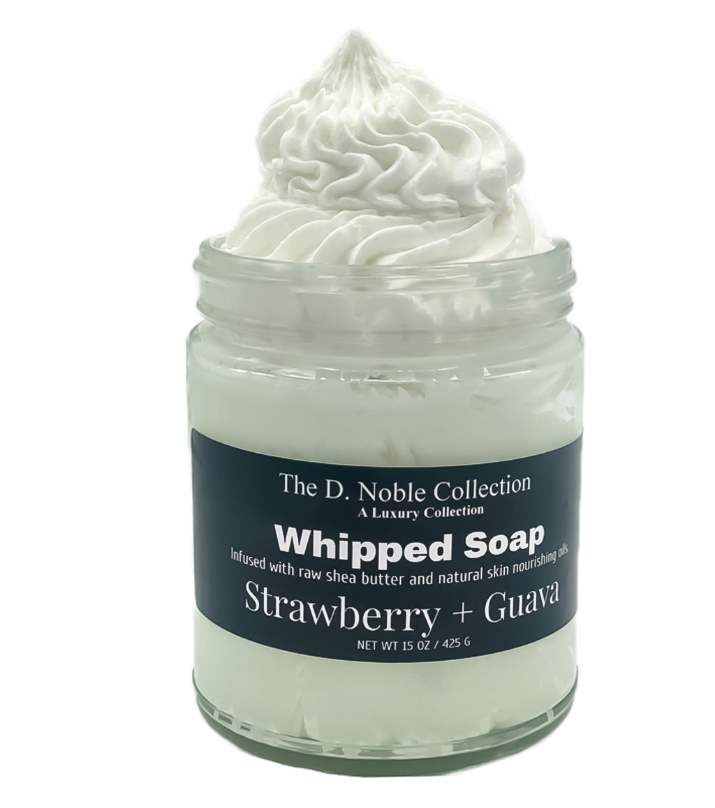 Strawberry + Guava Whipped Soap