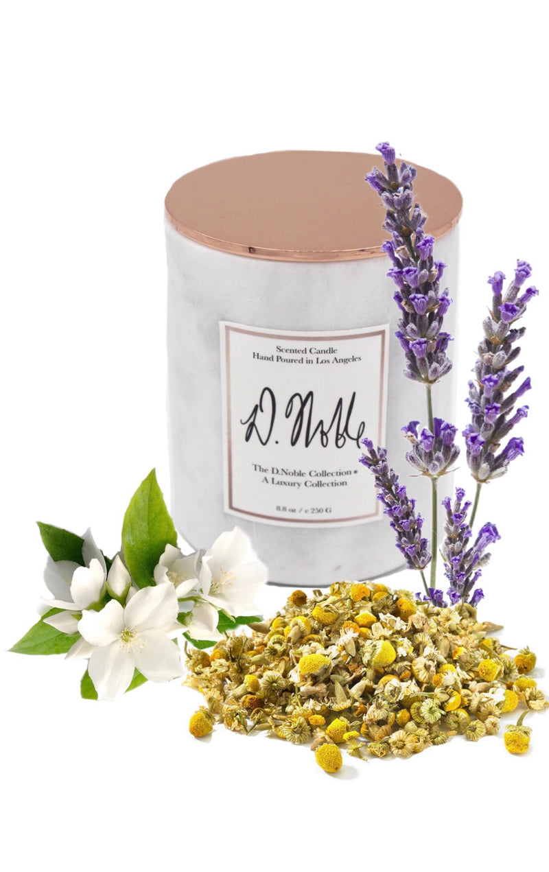 Royal Rest Therapeutic Aromatherapy Candle -Lavender + Chamomile + Jasmine