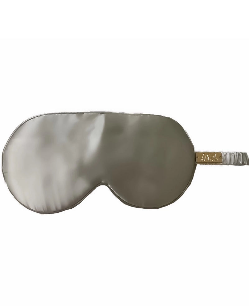Grey 100% Mulberry Silk Eye Mask