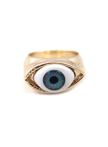 Evil Eye Ring - Me - BeHoneyBee.com - 1