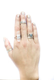Crystal Nights Ring - BeHoneyBee - BeHoneyBee.com - 3