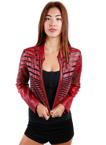 SOA Moto Jacket - Hot & Delicious - BeHoneyBee.com - 1