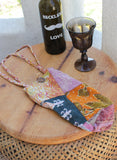 Bohemian Wine n' Water Tote - BeHoneyBee.com - New & Vintage Pieces for your Home and Closet - BeHoneyBee.com - 3