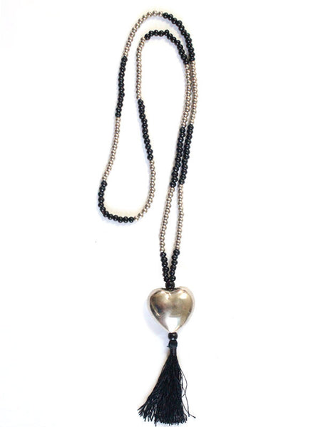 Hot n' Cold Heart Necklace - Me - BeHoneyBee.com - 1