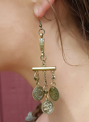 Wanderer Earrings - BeHoneyBee - BeHoneyBee.com