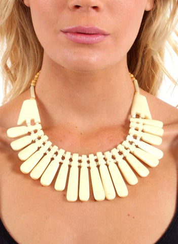 Soft Spike Collar Necklace (3 Colors) - Me - BeHoneyBee.com - 1