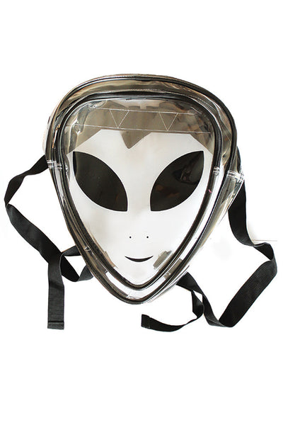 Clear Alien Jelly Backpack - BeHoneyBee - BeHoneyBee.com