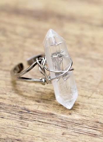 Crystal Days Ring - BeHoneyBee - BeHoneyBee.com - 1
