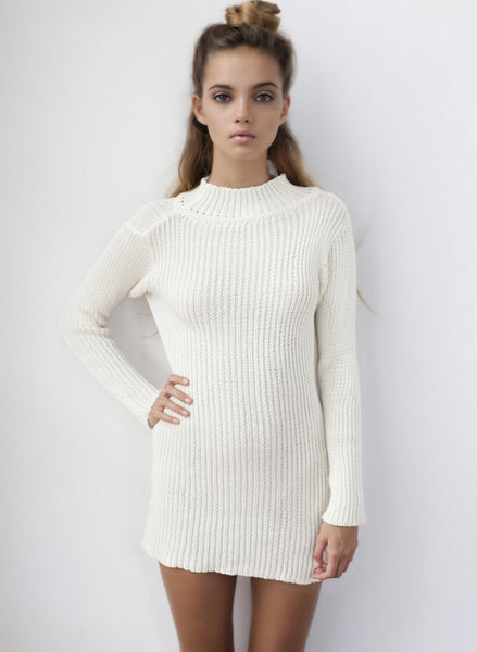 Serenity Knit Dress - Flook - BeHoneyBee.com - 1