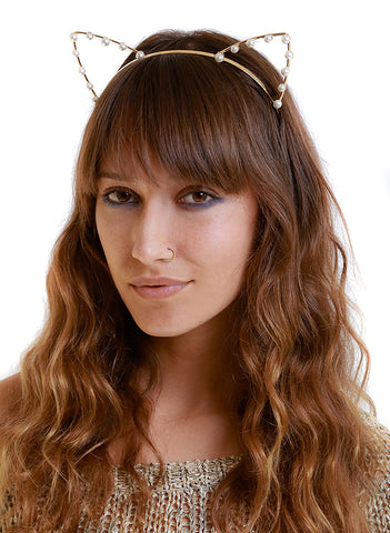 Kitty Cat Headband - Me - BeHoneyBee.com - 1