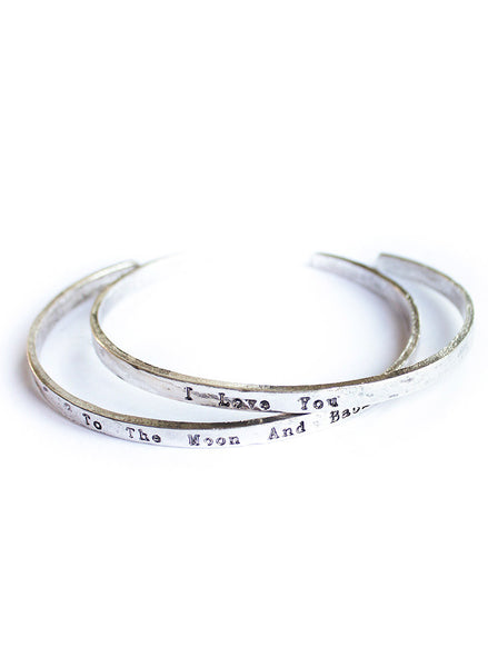 """To the moon and back"" Friendship Bracelet - BeHoneyBee - BeHoneyBee.com - 1"