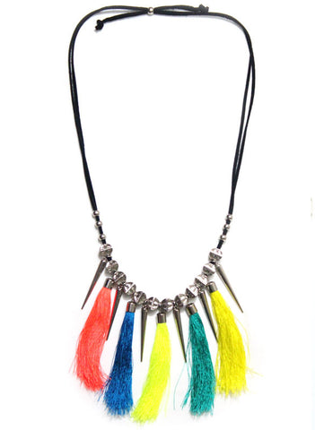 90s Tribal Goddess Necklace - Me - BeHoneyBee.com - 1