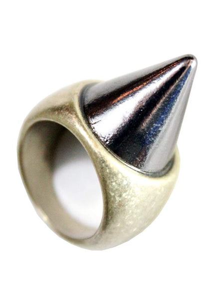 Spike Heavy Metal Ring (Size 6.5) - Me - BeHoneyBee.com - 1